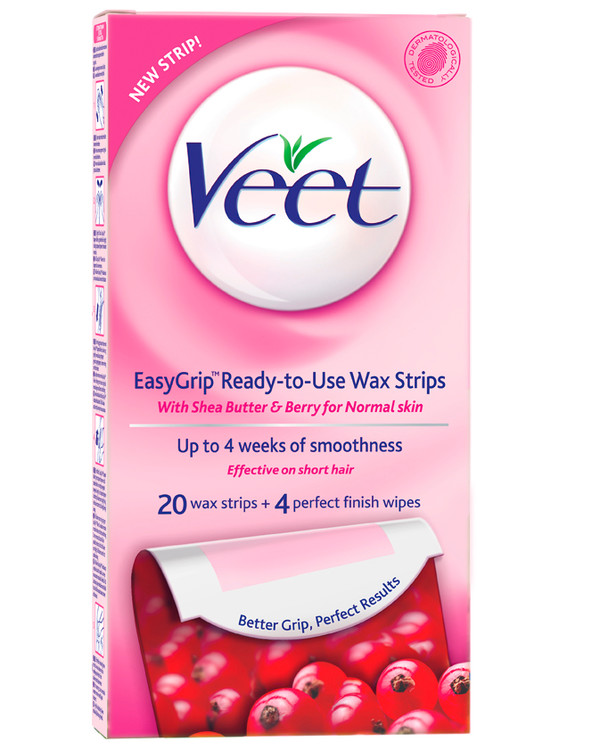 Veet Cold W Strips Normal